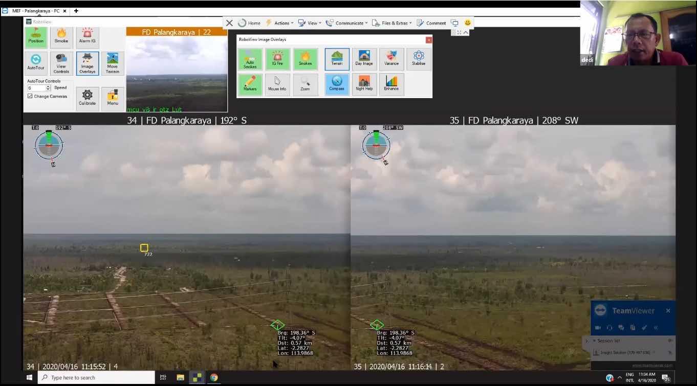 Insight FD control screen