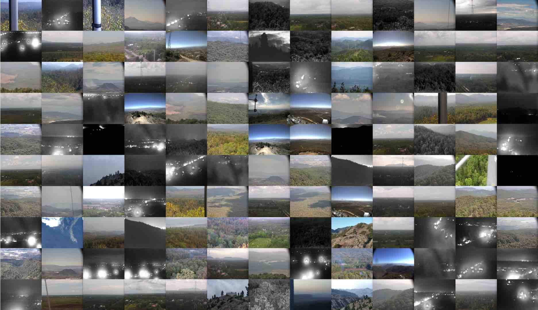 Dataset of early-stage wildfire images