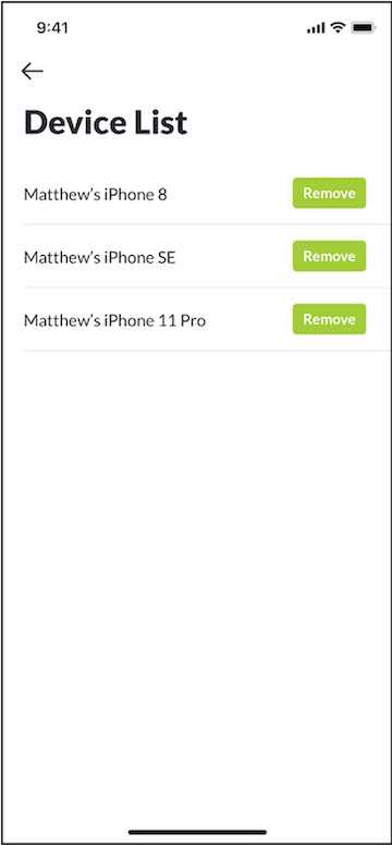 Figure 8: A registered user can use multiple iPhones to detect wildfire and receive alerts from them